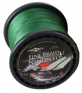 PLECIONKA NIHONTO FINE BRAID GREEN 0,50mm/900m