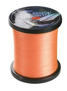 PLECIONKA NIHONTO FINE BRAID  ORANGE  0,50mm/900m