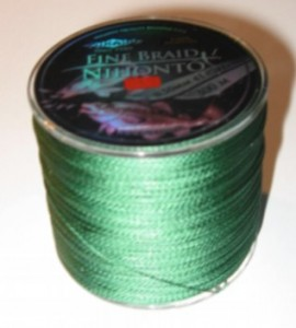 PLECIONKA NIHONTO FINE BRAID GREEN 0,45mm/300m