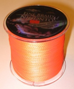 PLECIONKA NIHONTO FINE BRAID  ORANGE  0,50mm/300m