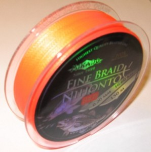 PLECIONKA NIHONTO FINE BRAID  ORANGE  0,40mm/150m