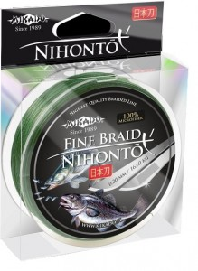 PLECIONKA NIHONTO FINE BRAID GREEN 0,50mm/150m
